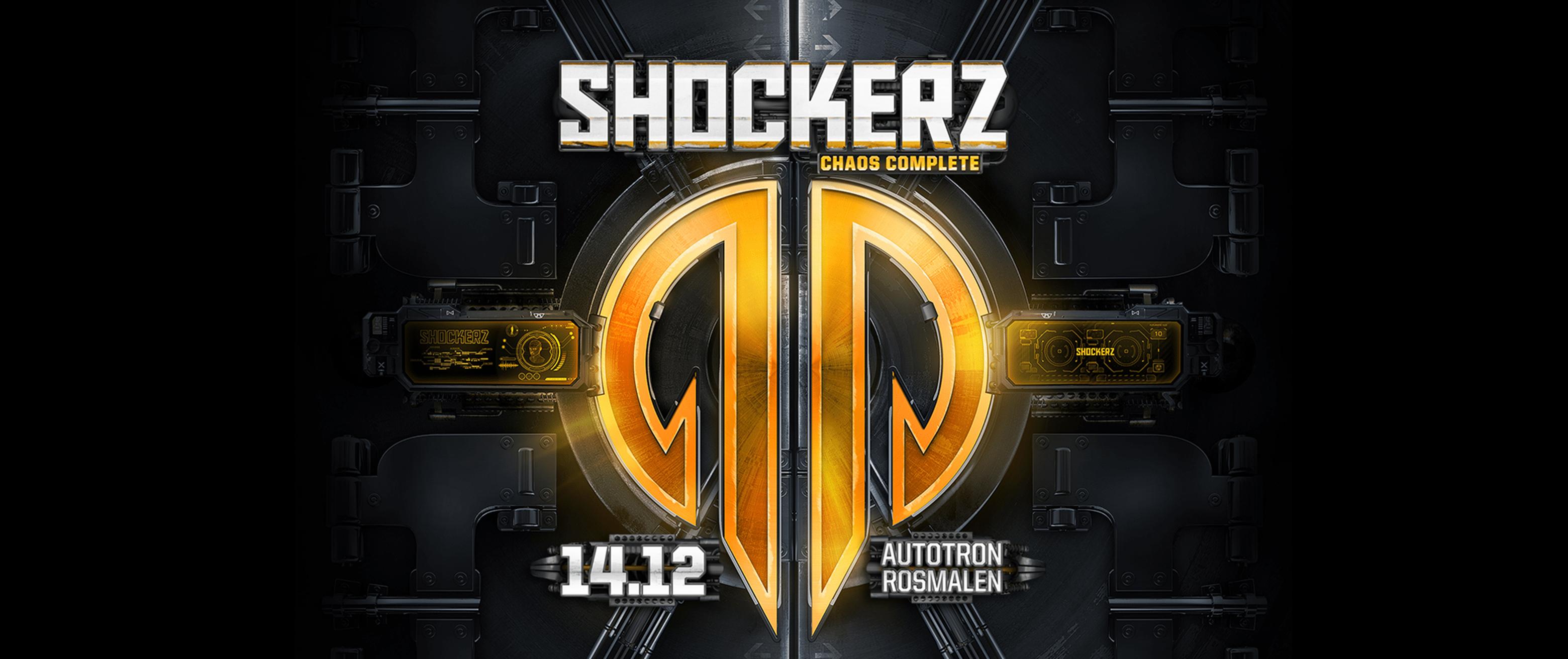 Shockerz Chaos Complete Artwork